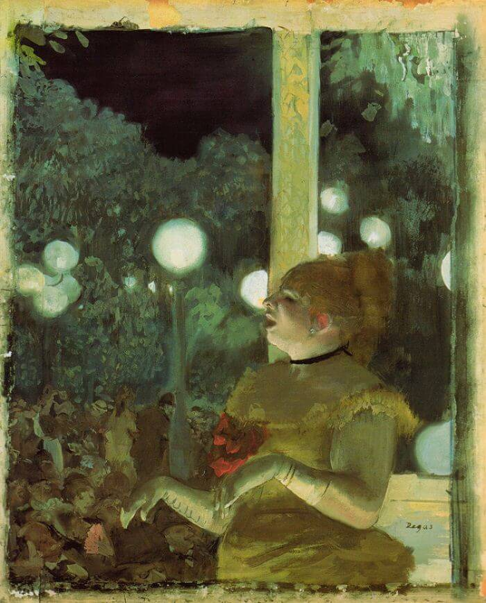 Cafe Concert: The Song of the Dog, 1875 by Edgar Degas