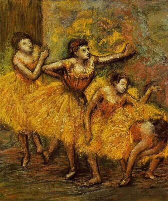 Four Dancers, 1903 by Edgar Degas