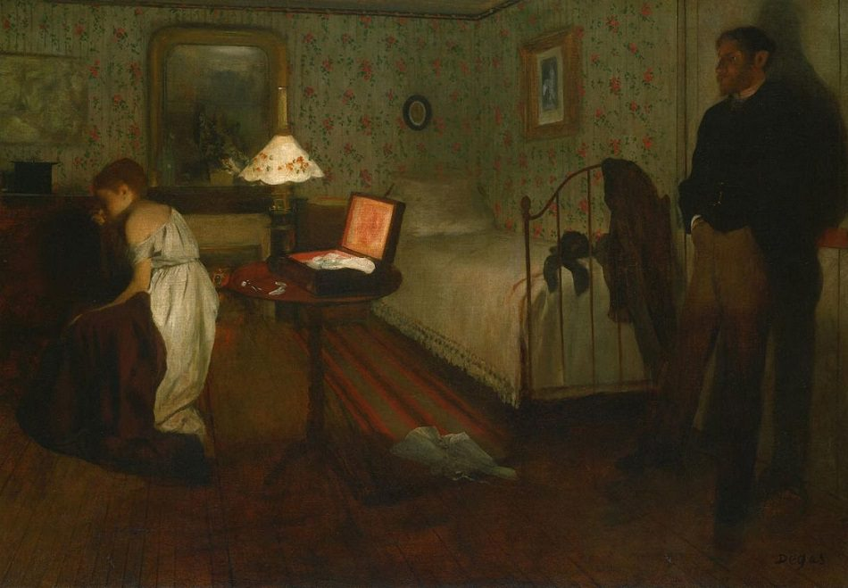 Interior, 1868 by Edgar Degas