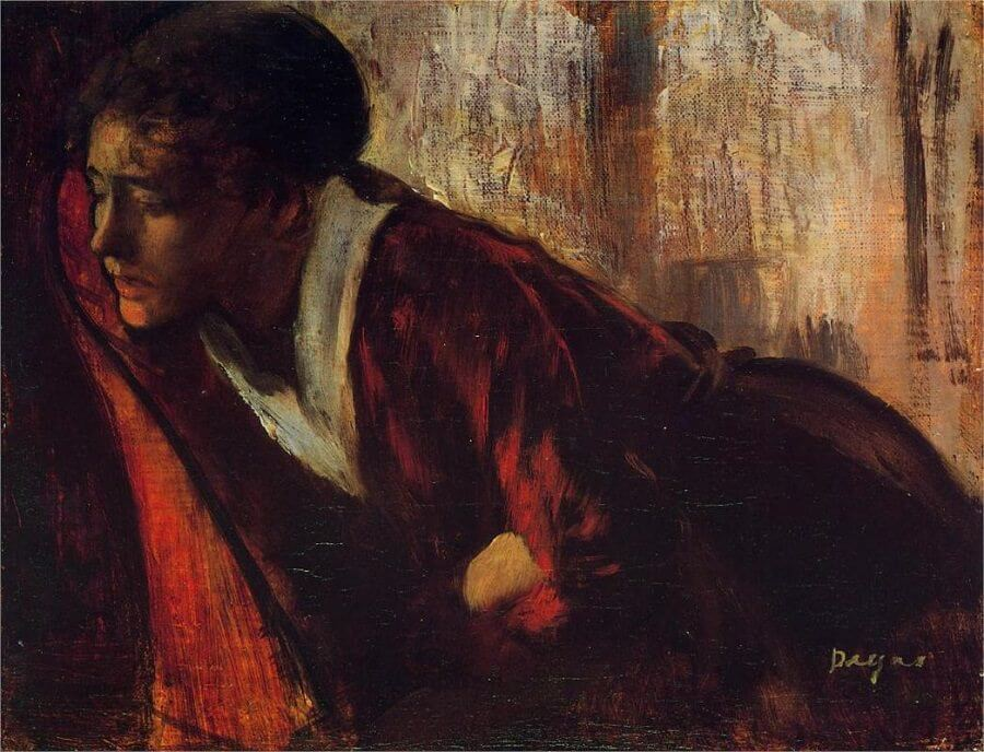 Melancholy, 1874 by Edgar Degas