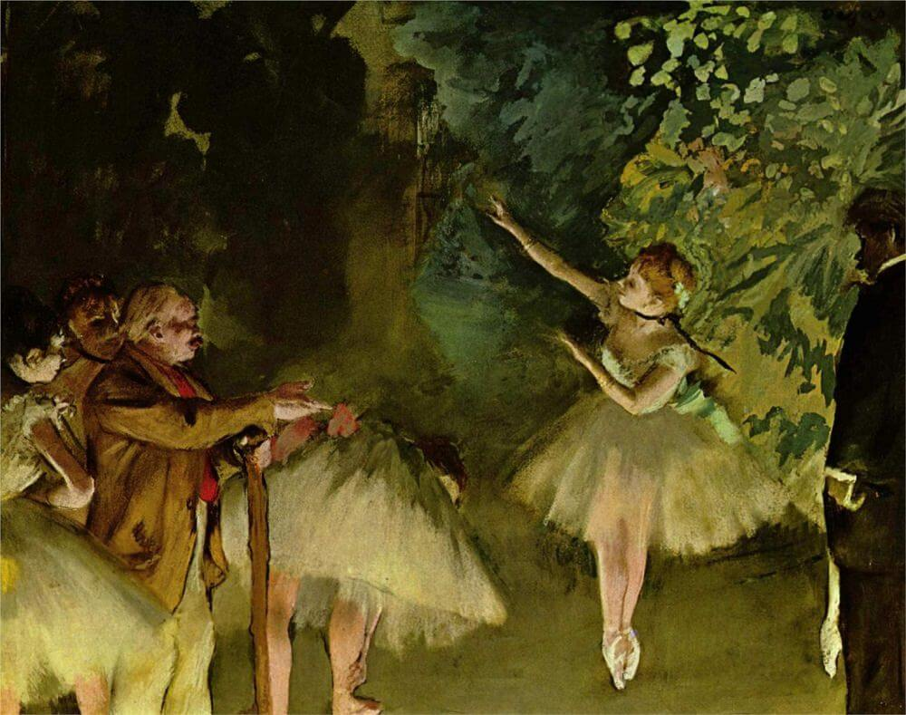The Star, 1878 by Edgar Degas