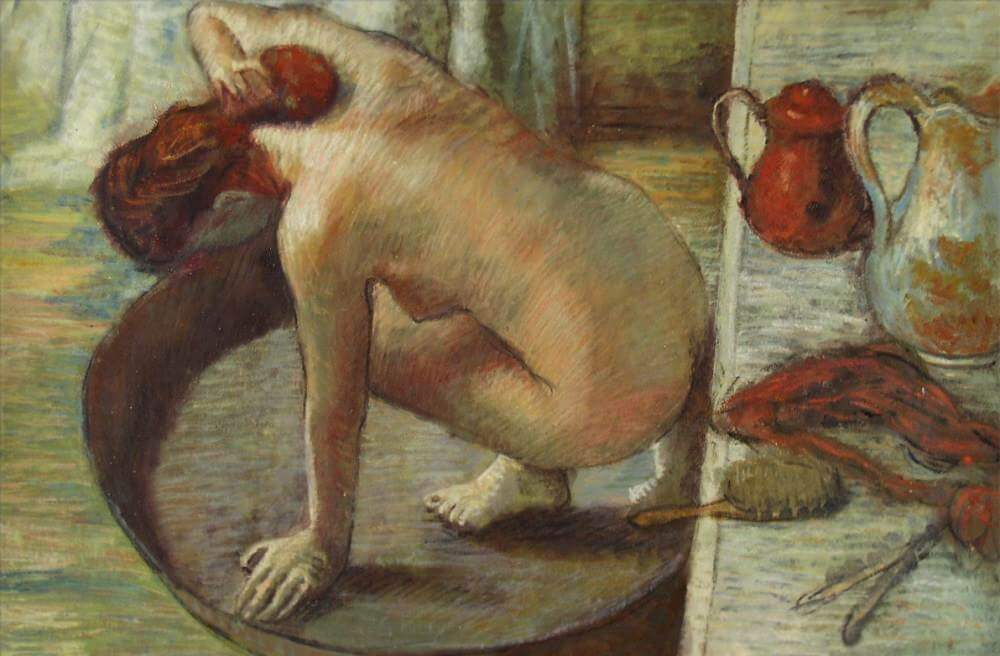The Tub, 1886 by Edgar Degas